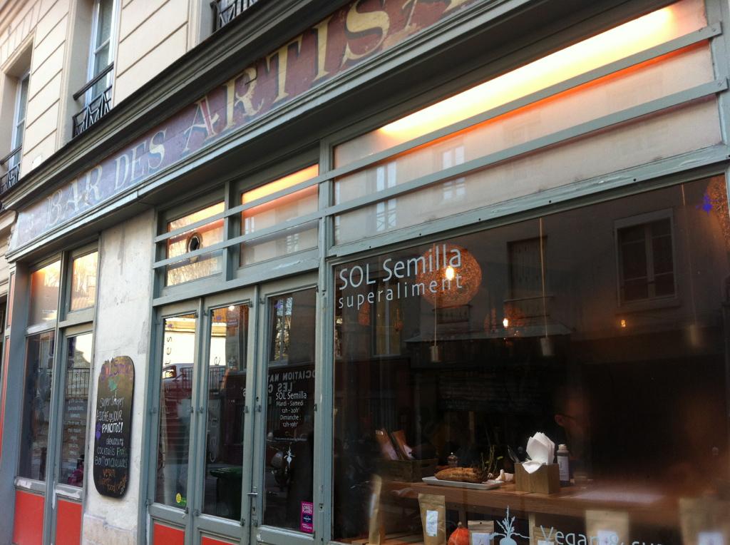 Sol semilla superfoods in paris good food in paris - Restaurant rue des vinaigriers ...